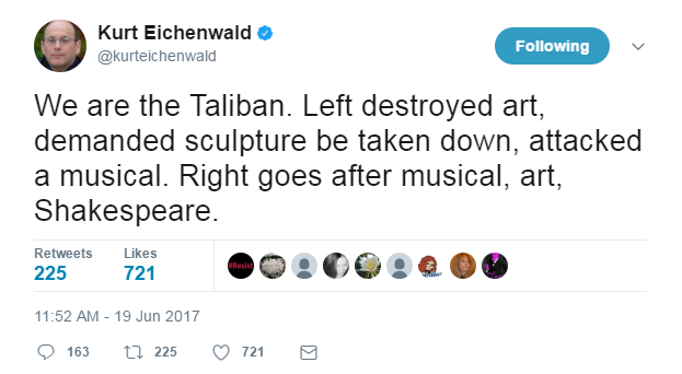 Eichenwald on Taliban